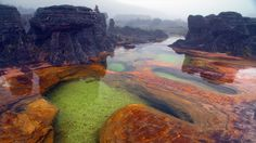 Bing Image Archive: Sources chaudes sur le mont Roraima, Venezuela (© Waldyr Neto/Getty Images)(Bing France)