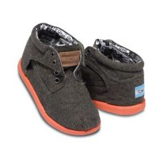 New TOMS I bought Walker for this Fall. So cute! Fall fashion. Toddler style.