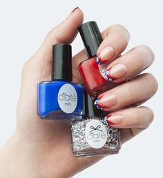 The French Manicure with a British Twist | #Sephora Beauty Board #nails #sephoranailspotting