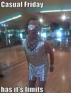 Richard Simmons... i met him when i was 9. it was just as fabulous as youd imagine.