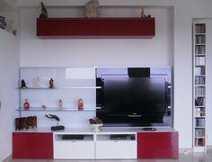 Album   6   Banc Tv Besta (Ikea) + Panneau Framsta, Réalisations Clients