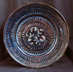 2ebcf-Web_Ty_jun_Cobalt_dish__jpg County Mayo, Ceramic Artists, Cobalt, Jun, Serving Bowls, Stoneware, Decorative Plates, Clay, Ceramics