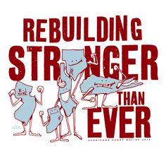 Hurricane Sandy Relief Tee by Mr. Doodles