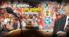 Campañas electorales con miedo y 'discreción' - http://muropolitico.mx/2015/03/05/campanas-electorales-con-miedo-y-discrecion/