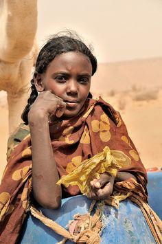Naqa, Sudan, Nomad at well #nubians