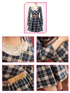 To do - plaid with a crocheted collar