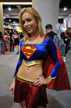 Classic Red Skirt Supergirl