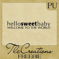 Create with TLC: Sunday Word Art Freebie......
