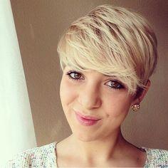 11 glänzende Frisuren für Frauen mit kurzen blonden Haaren! - Neue Frisur