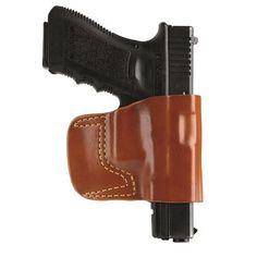 GandG Chestnut Brown Belt Slide Hlstr for Beretta Right Hand