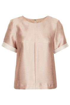 Rose Gold Textured Tee - New In This Week  - New In