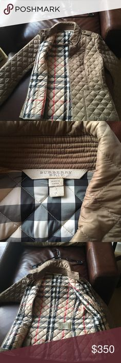 Burberry jacket.  selling for $350.  Never worn. Great condition! Never worn! Burberry Jackets & Coats Puffers