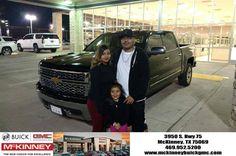 https://flic.kr/p/PtnbSX   Congratulations Mr. Vazquez on your 2015 Silverado LTZ.