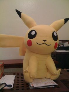 Giant Stuffed Pikachu (free)