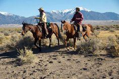 Dans un ranch aux USA - http://www.randocheval.com/