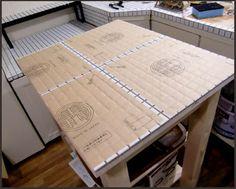 キッチンカウンターはタイルがおしゃれ。簡単DIYをご紹介。 | iemo[イエモ]