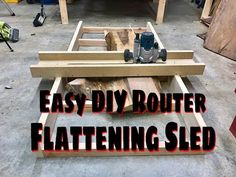 Let's Make an Easy and Adjustable DIY Router-Planer | How To - YouTube