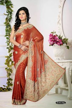 EXCLUSIVE DESIGNER SAREE TO BUY THIS PLEASE EMAIL US ON aarozfashion@gmail.com OR WHATSAPP US ON +91-97278-99433