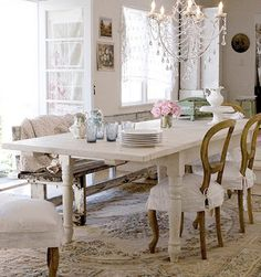 natural modern interiors: How To Decorate :: The Shabby Chic Style