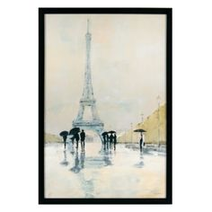 April in Paris from Z Gallerie - $89.95 (To put with the other 2 paintings clustered behind the bed)
