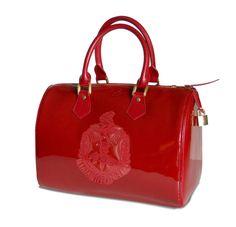 Delta Sigma Theta Candy Red Satchel Handbag