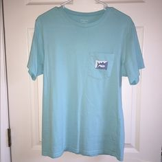 Southern Tide pocket tee size small, light blue. SO soft Southern Tide Tops Tees - Short Sleeve