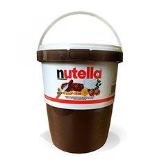 XXL Nutellabecher!!!  Ferrero - Nutella - 3kg Der Klassiker für Ihr Brot - effizienter Frühstücksversüßer - Großverbrauchergröße