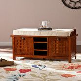 Found it at Wayfair - Cruse Upholstered Storage Entryway Bench