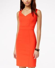 XOXO Juniors'Sweetheart Midi Sheath Dress - Dresses - Juniors - Macy's
