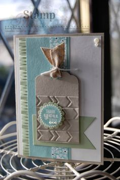 Startburst Sayings Card using new Scallop Tag Topper Punch, Fringe Scissors and Starburst Framelits Dies all from Stampin' Up!.  Visit my blog at www.kerrysstampinspiration.blogspot.com for more inspiration.