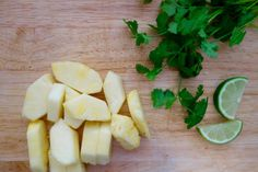 Pickled pineapple