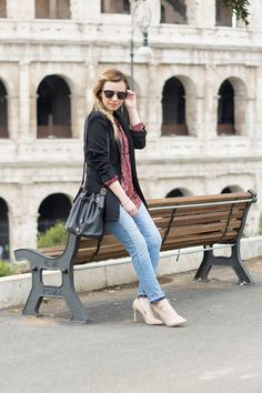 come indossare il jeans con l'orlo sfilacciato dressing&toppings cropped jeans  www.dressingandtoppings.com