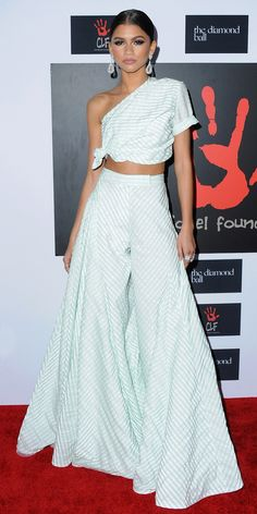 15 Lessons We Learned from Obsessing Over Zendaya's Fiercely Cool Style - Lesson: Embrace Volume from InStyle.com