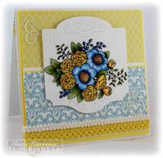 Summer Blossoms by One Happy Stamper - Cards and Paper Crafts at Splitcoaststampers