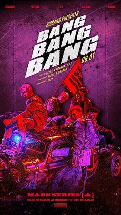 "New ""BANG BANG BANG"" Poster Reveals Which BIGBANG Members Took Part in Songwriting"