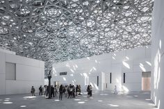 The much-anticipated Louvre Abu Dhabi, designed by Jean Nouvel, opens this week in the United Arab Emirates. Jean Nouvel, Louvre Abu Dhabi, Organic Architecture, Organic Modern, Gallery, Building, Design, Architects, Toronto