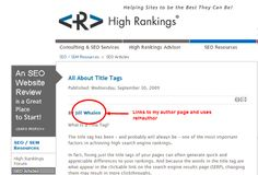 6 Reasons Why You Need to Use Rel=Author on Your Content