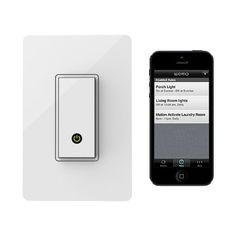 Control your Home Lighting Switches from your Smartphone. Perfect for when you…