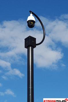 8 X 10 Mounting Platform (Birdhouse) - Strong Poles Cctv Security Systems, Cctv Security Cameras, Security Cameras For Home, Ip Camera System, Security Camera System, Shipping Container Home Designs, Container House Design, Solar Camera, Cctv Camera Installation