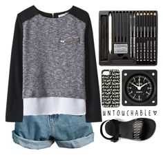 """""""Sem título #1116"""" by andreiasilva07 ❤ liked on Polyvore featuring Retrò and Marc by Marc Jacobs"""