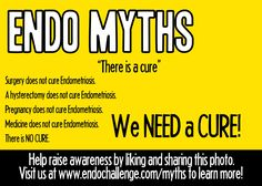 There is no cure for Endometriosis! Stand up for change and take the Endo Challenge on March 1, 2015 at www.endochallenge.com