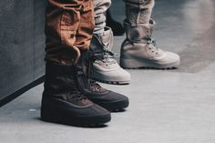 The Four Fall Colorways of Kanye West's adidas Yeezy 950 Boot
