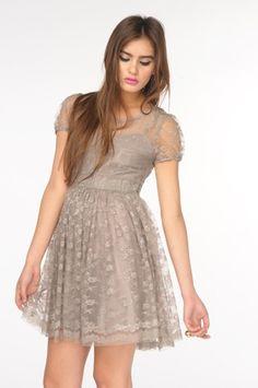 Babydoll Lace Dress - NASTY GAL - Vintage Clothing, 80s Vintage Clothes, Vintage Sunglasses, Vintage Dresses!