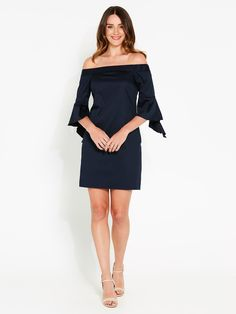 Image for You Got This Off Shoulder Dress from Portmans