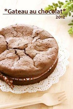 材料2個♡濃厚ガトーショコラ by Banyangarden [クックパッド] 簡単おいしいみんなのレシピが137万品