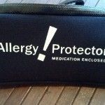 List of epi pen holders and other food allergy accessories.