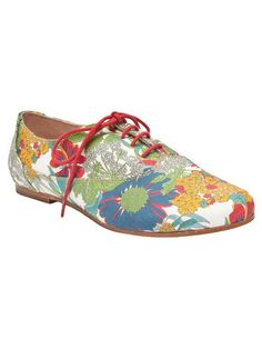 Floral Oxfords for Women