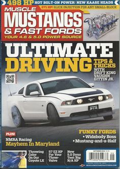 Muscle Mustangs and Fast Fords magazine Ultimate driving Small block injection