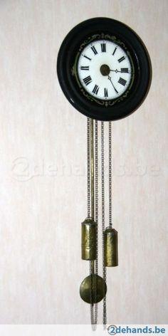 Antieke klok uit Zwarte Woud van rond 1840. - Te koop