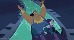 """Kronk and Yzma """"Yzma... Put your hands in the air!!!"""""""
